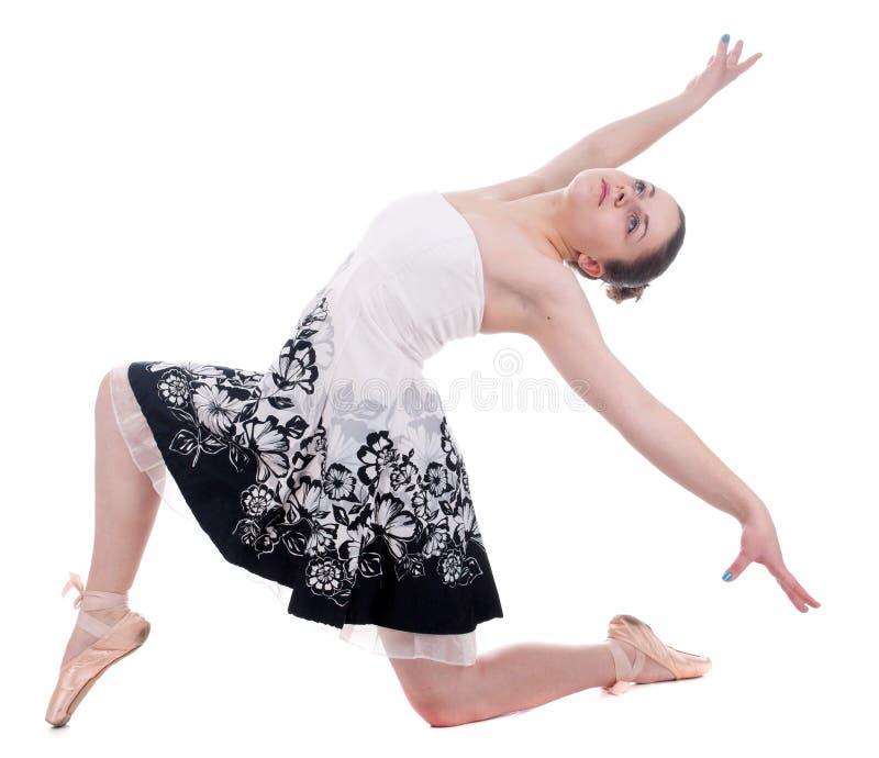 Bella giovane donna della ballerina immagine stock libera da diritti