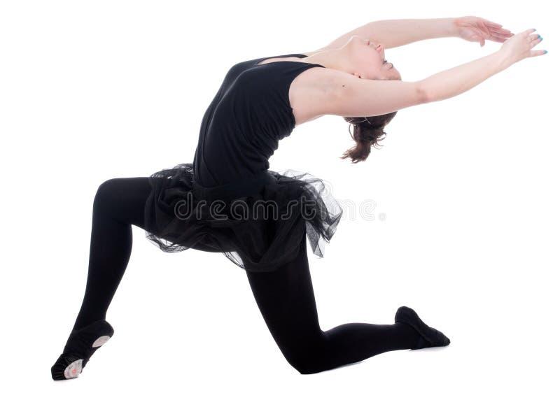 Bella giovane donna della ballerina fotografia stock libera da diritti