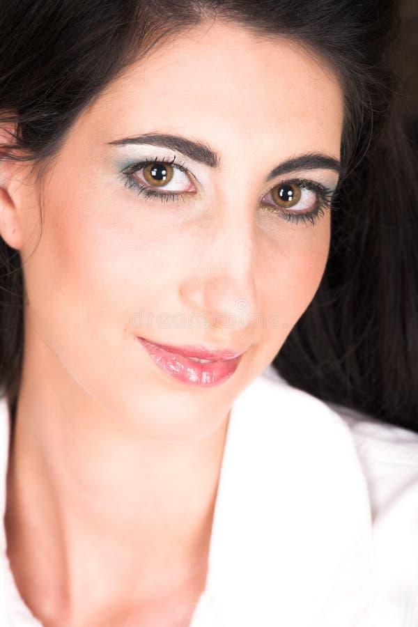 Download Bella Giovane Donna Italiana Immagine Stock - Immagine di nero, umano: 3882959