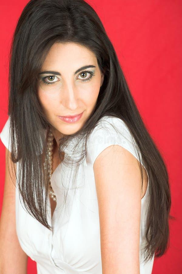 Download Bella Giovane Donna Italiana Immagine Stock - Immagine di multi, occhi: 3883027