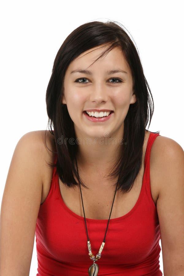 Bella giovane signora immagini stock