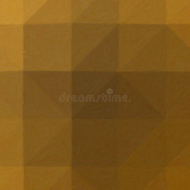 Bella illustrazione astratta di Impasto marrone e rosso con la pittura della spazzola molle Fondo utile per la vostra progettazio illustrazione vettoriale
