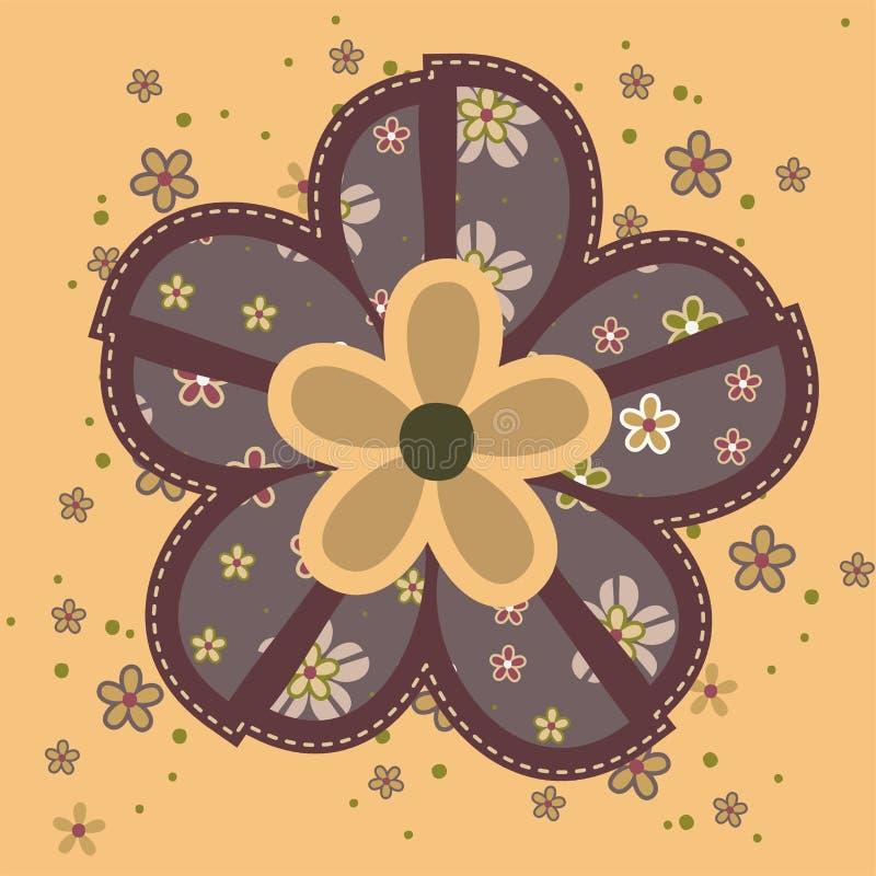 Bella illustrazione del fiore fotografia stock libera da diritti