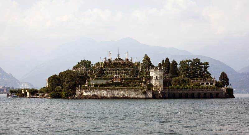 bella isola Italy jeziora maggiore fotografia stock