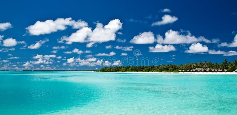 Bella isola tropicale immagine stock libera da diritti