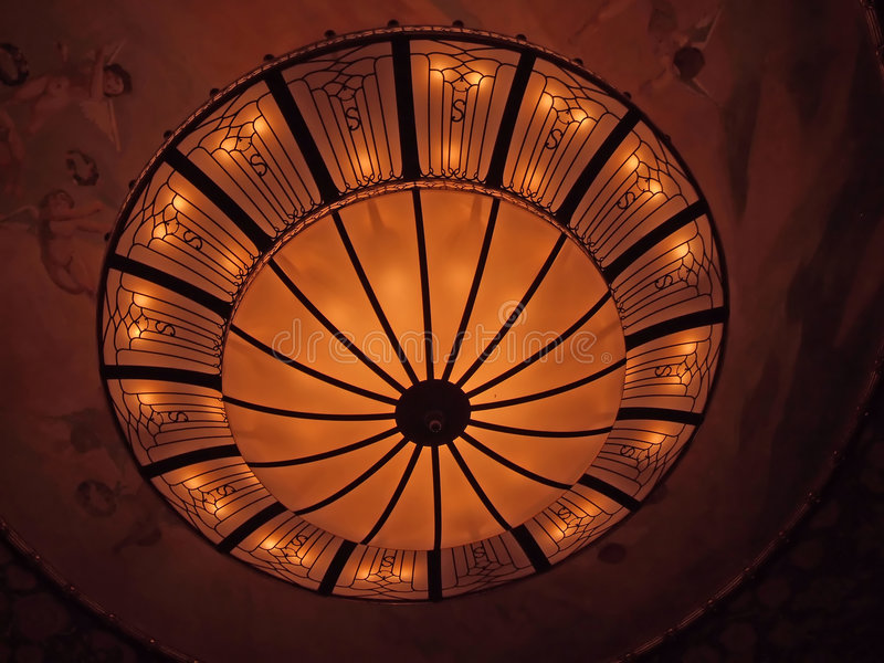 Bella lampada fotografia stock