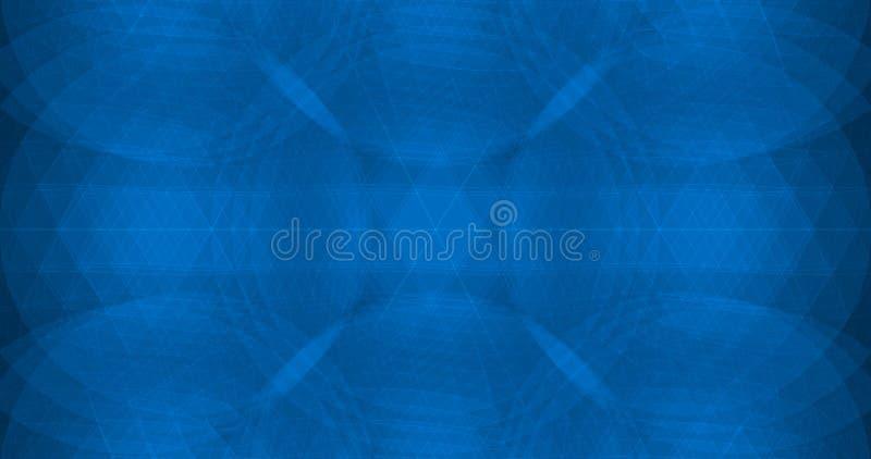 Bella linea blu piacevole fondo di stile illustrazione vettoriale