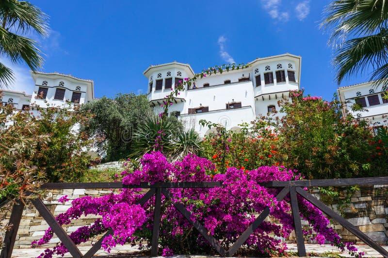 Bella località di soggiorno greca fotografia stock libera da diritti