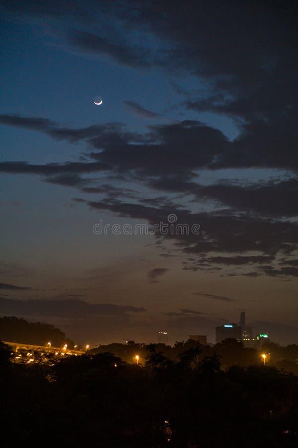 Bella mattina in Kuala Lumpur, la Malesia immagini stock