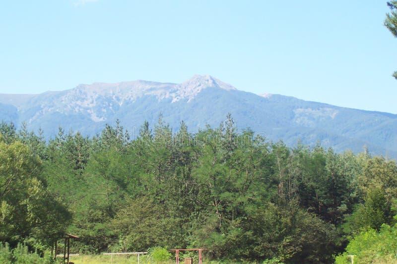 Bella montagna in Bulgaria fotografia stock libera da diritti