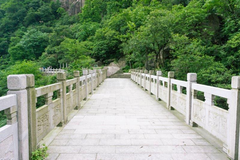 Bella montagna di Huangshan in Cina fotografie stock