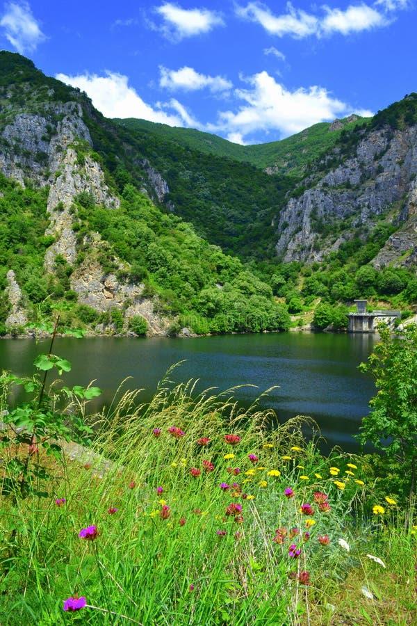 Download Bella Natura Del Lago Della Montagna Immagine Stock - Immagine di diga, nave: 56879189