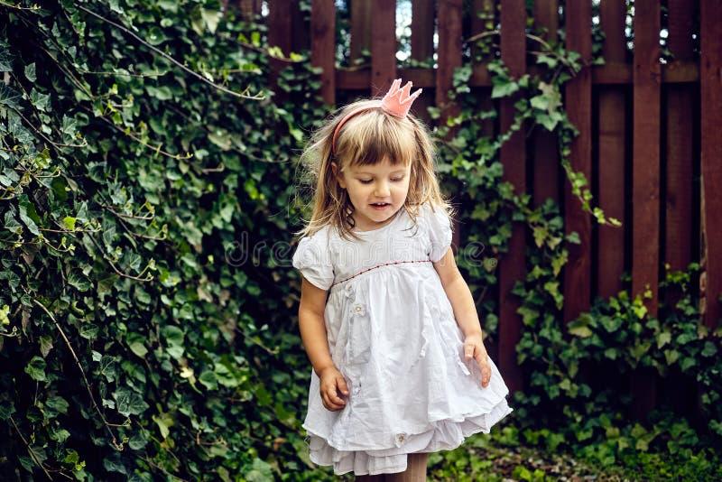 Bella piccola ragazza di principessa fotografia stock