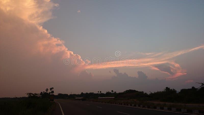Bella pittura del cielo immagine stock libera da diritti