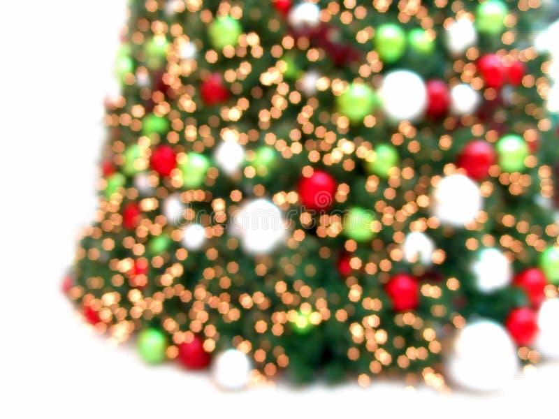 Bella priorità bassa dell'estratto dell'albero di Natale fotografie stock