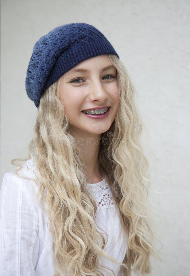 Bella ragazza bionda fotografie stock libere da diritti