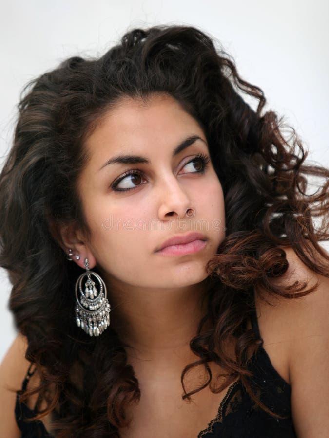 Bella ragazza del Medio-Oriente fotografia stock