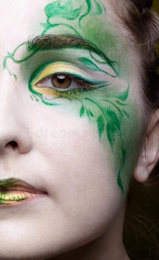 Bella ragazza dell'elfo fotografia stock libera da diritti