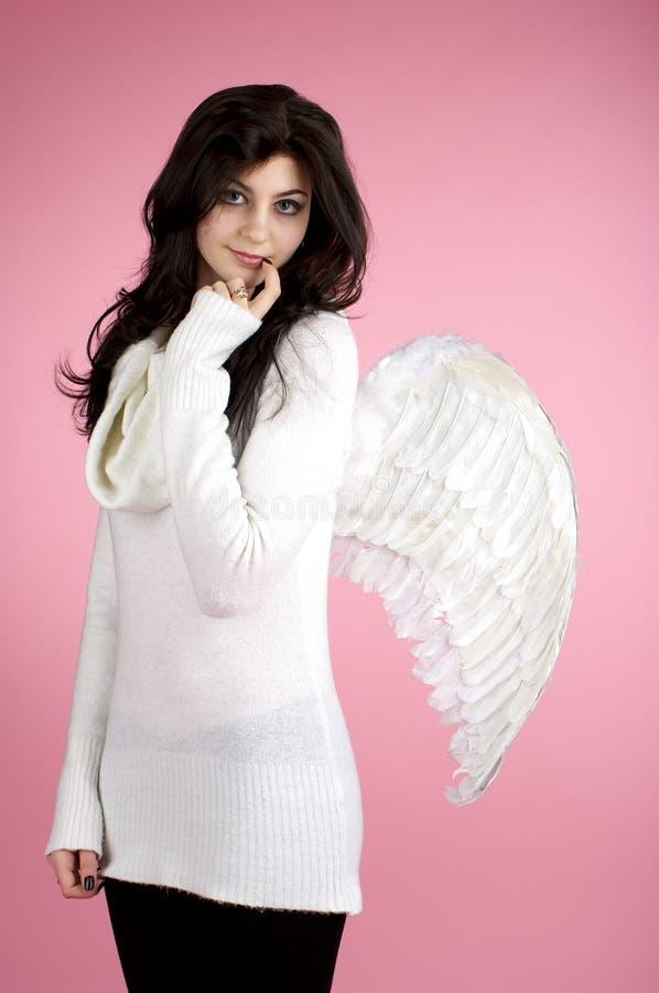 Bella ragazza di angelo immagine stock libera da diritti