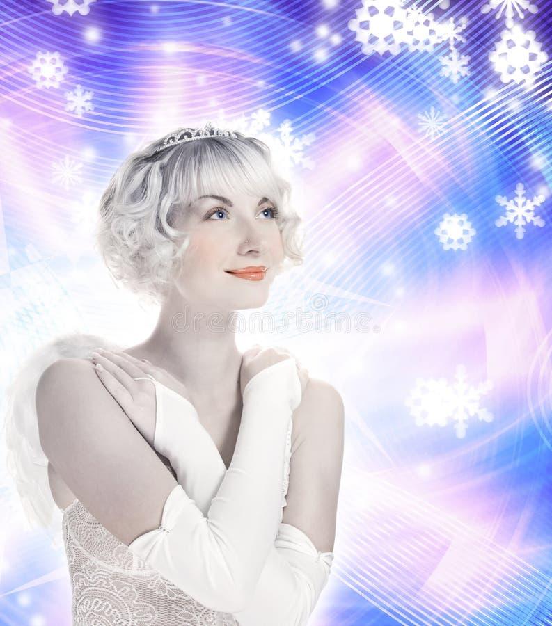 Bella ragazza di angelo immagini stock