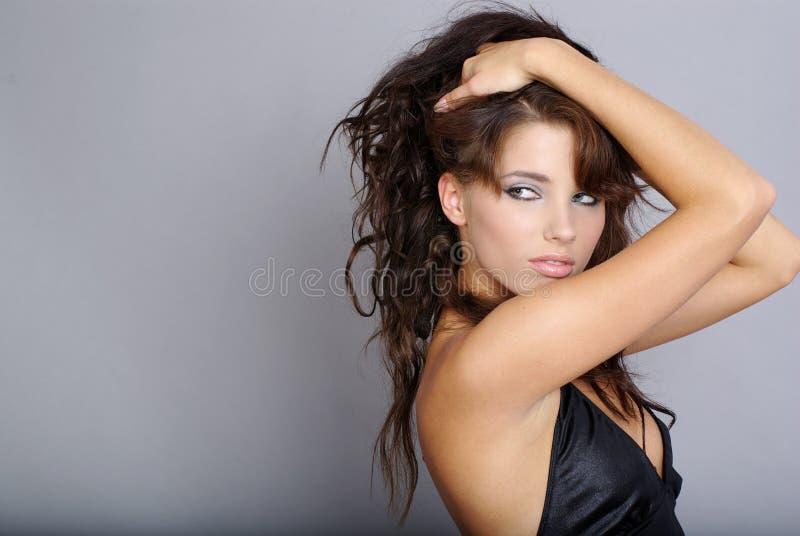 Bella ragazza di modo fotografia stock libera da diritti