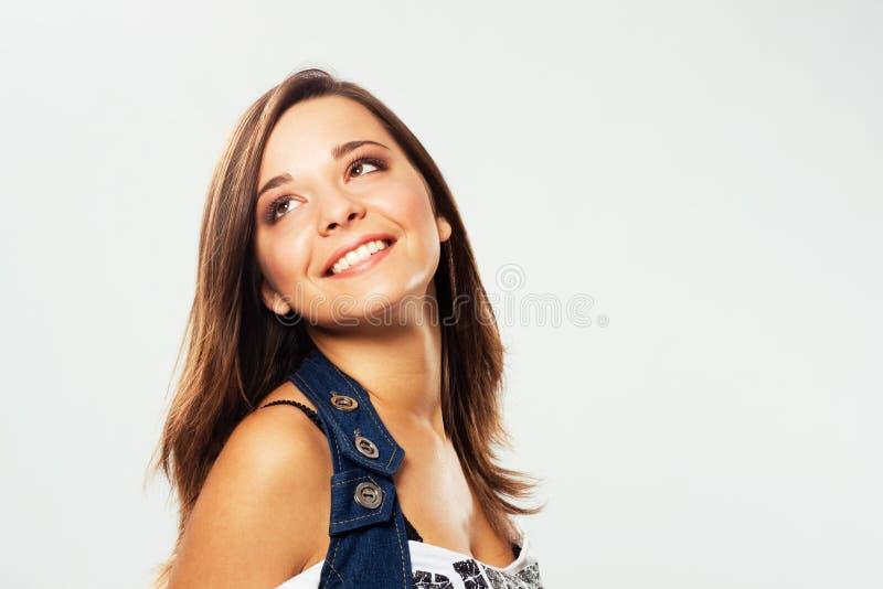 Bella ragazza felice fotografia stock libera da diritti