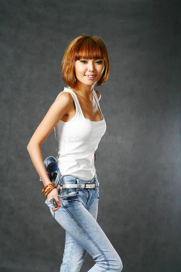 Bella ragazza giapponese fotografia stock