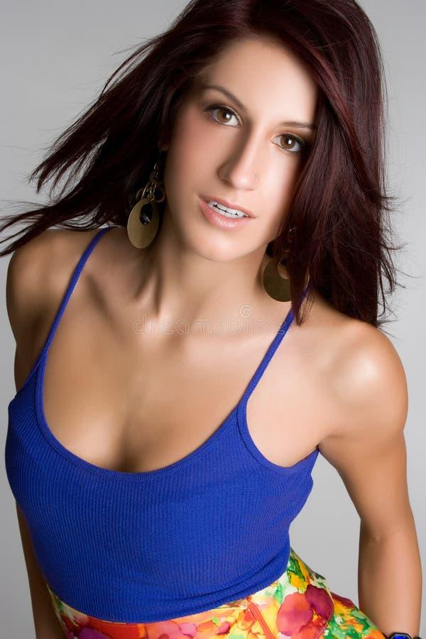 Bella ragazza latina fotografie stock