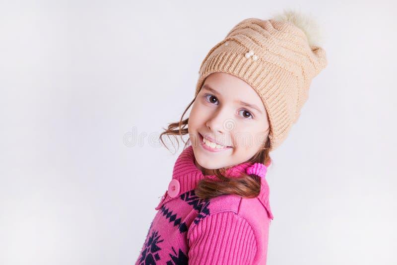 Bella ragazza sorridente. fotografia stock