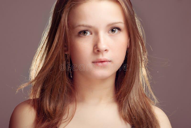 Bella ragazza teenager fotografie stock libere da diritti