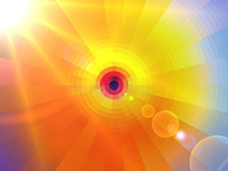 Bella sfera celeste royalty illustrazione gratis