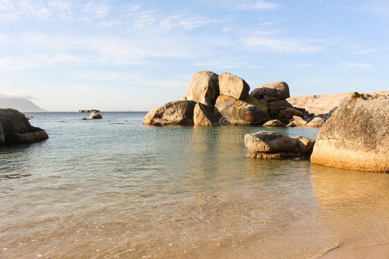 Bella spiaggia immagine stock