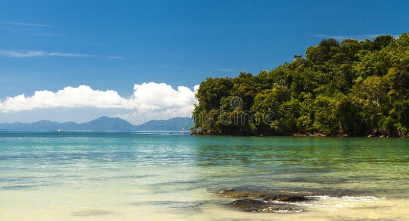 Bella spiaggia del mare Le isole della Tailandia fotografia stock