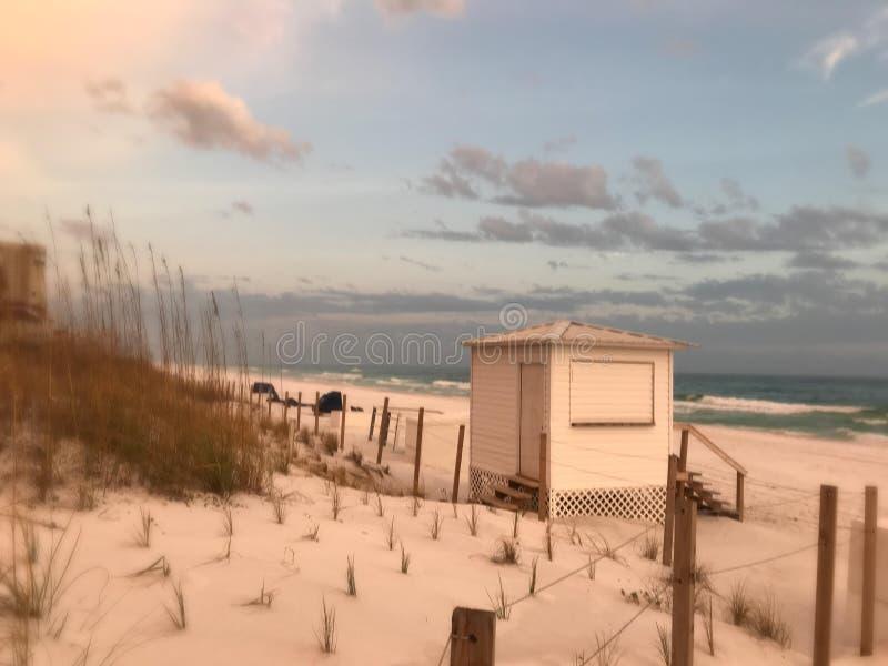 Bella spiaggia di Miramar immagini stock libere da diritti