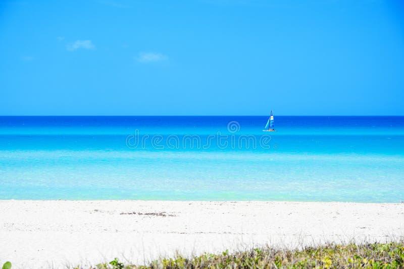 Bella spiaggia di Varadero fotografia stock libera da diritti