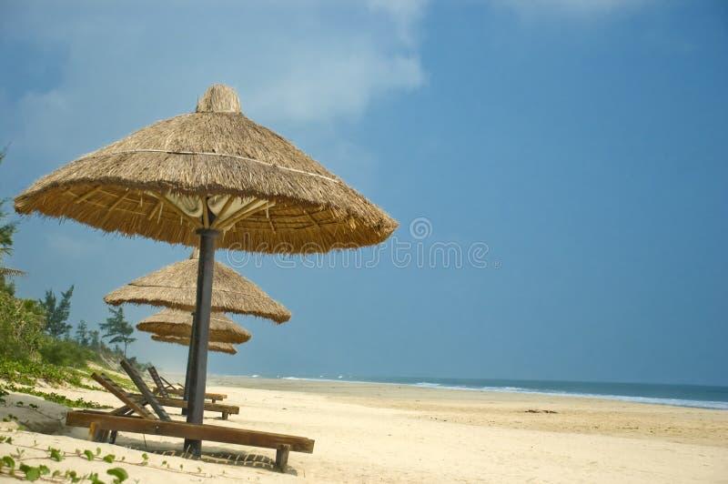 Bella spiaggia nel Vietnam fotografia stock libera da diritti