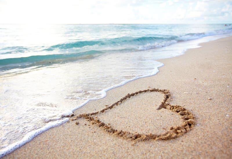 Bella spiaggia tropicale. immagine stock