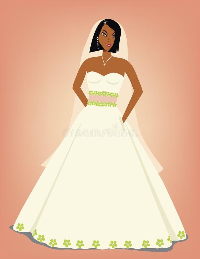 Bella sposa illustrazione di stock