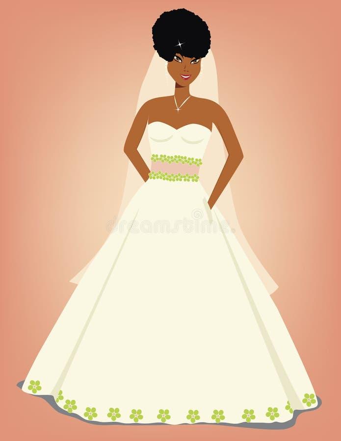 Bella sposa royalty illustrazione gratis