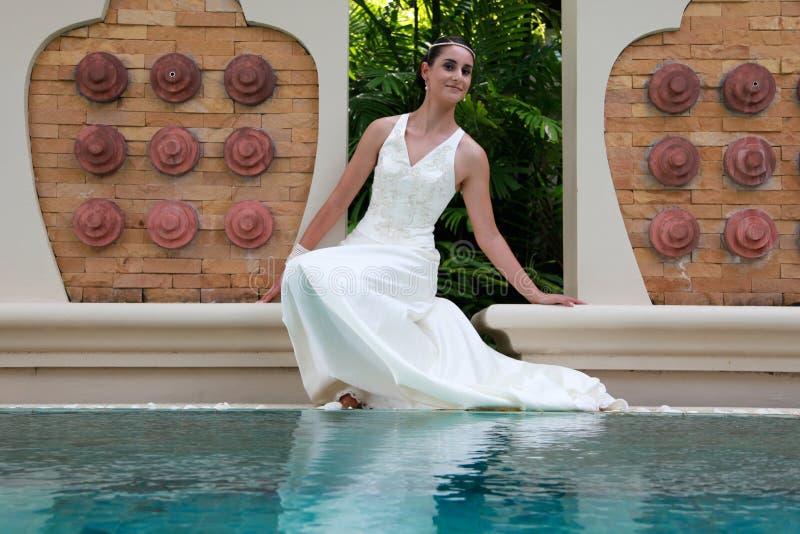 Bella sposa. fotografia stock