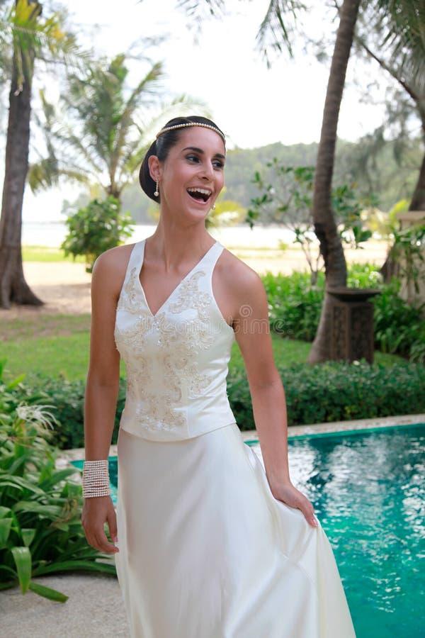 Bella sposa. immagine stock