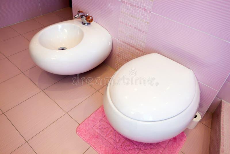 Bella stanza da bagno dentellare fotografie stock