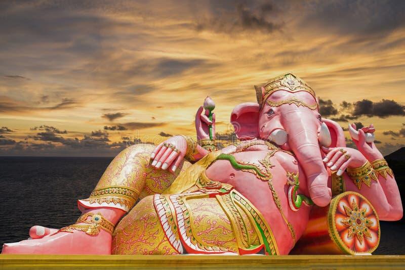 Bella statua di Ganesh immagine stock