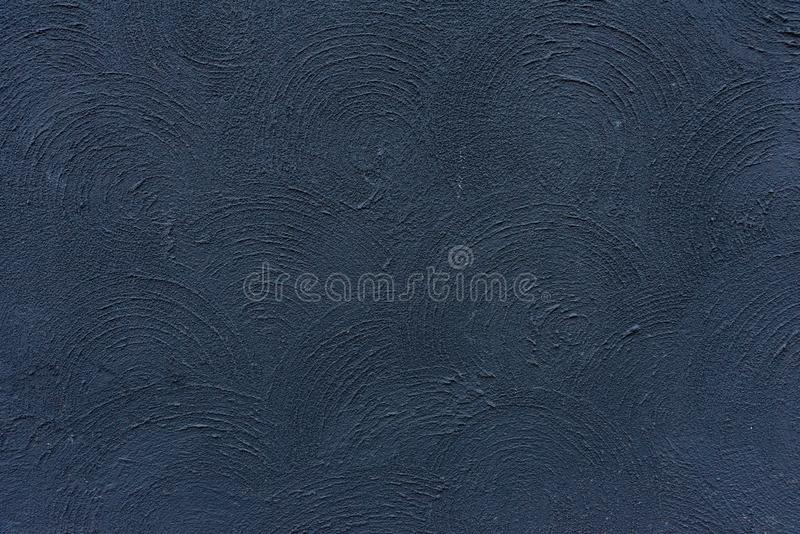 Bella struttura blu del cemento di colore del muro di cemento per il retro fondo e strutture d'annata di stile immagini stock