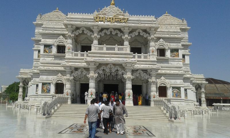 Bella struttura del tempio fotografia stock