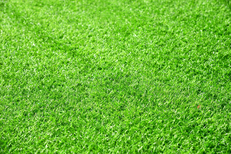 Bella struttura dell'erba verde dal campo da golf immagini stock libere da diritti