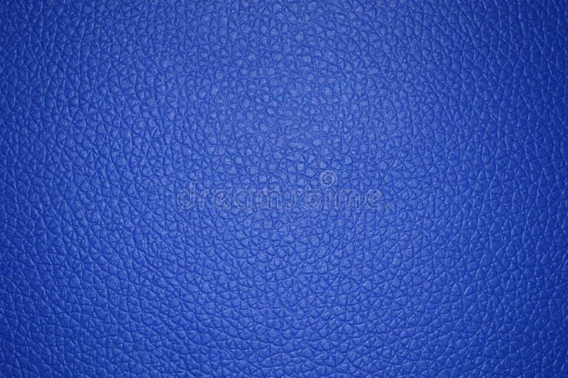 Bella struttura di cuoio blu come fondo illustrazione vettoriale