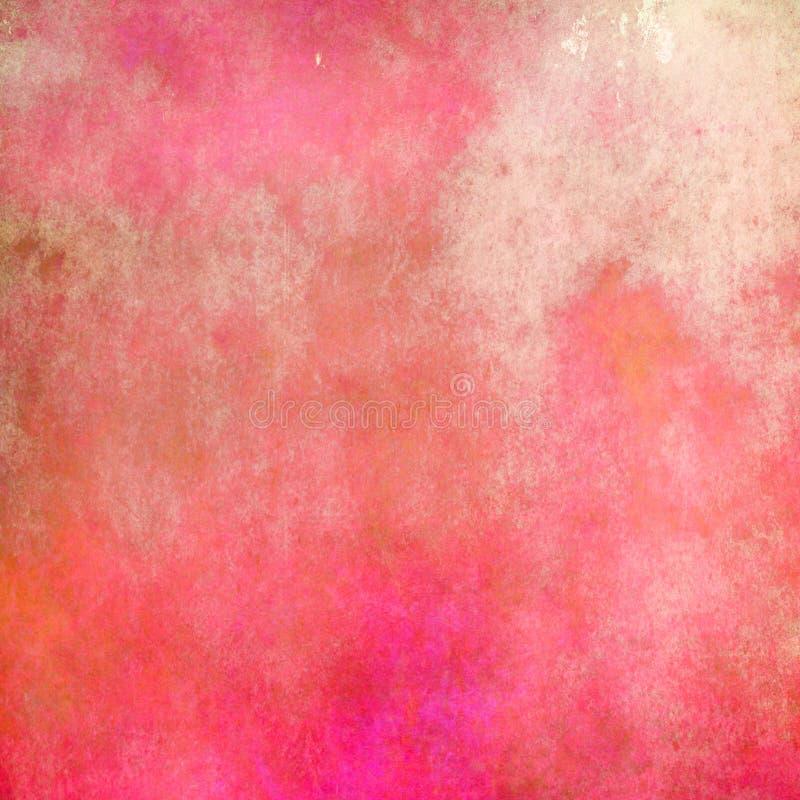 Bella struttura morbida ed astratta rosa per fondo illustrazione vettoriale