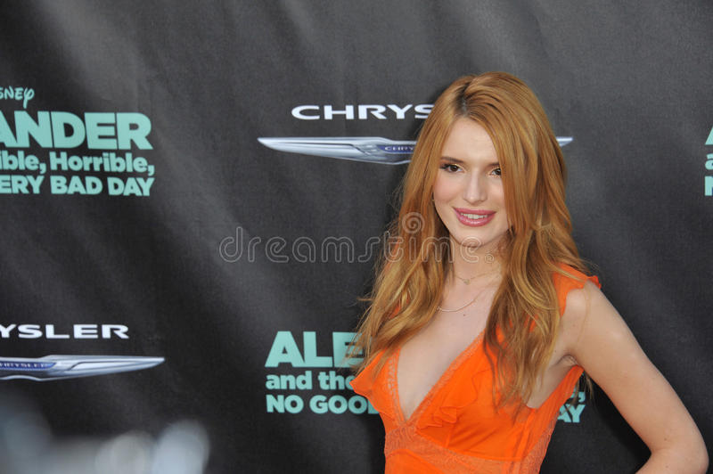 Bella Thorne images libres de droits