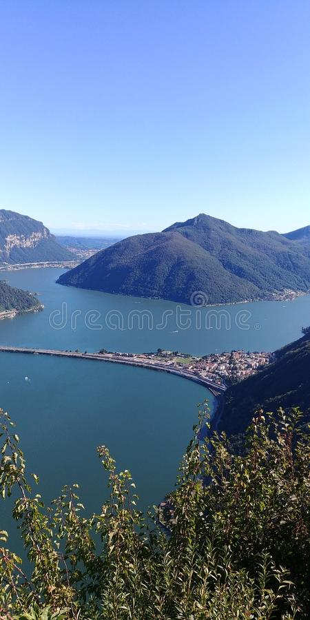 Bella Ticino royalty free stock images